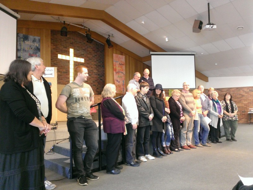 Prayer for the Solomon's Team before they leave – Sunday 22nd May